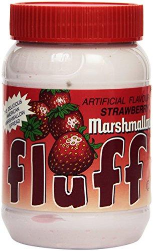 Fluff mit Erdbeer-Geschmack