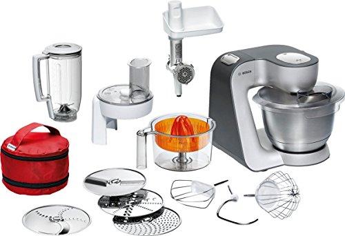 Bosch Küchenmaschine Styline MUM5 (900 Watt, 3.9 Liter) silber